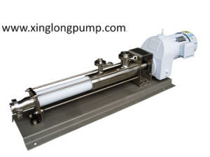 Food Grade Sanitary Single Screw Pump pictures & photos