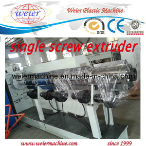 Plastic Extruder Machine / Single Screw Extruder for HDPE PP PPR Pipe Making pictures & photos