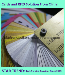 off-Set Printing Cr80 0.76mm Standard PVC Card Made in China pictures & photos