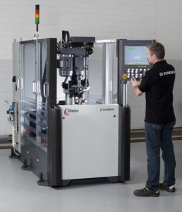 Schenck Automatic Balancing Machine for Balancing Disc-Shaped Rotors