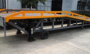 Stationary Hydraulic CE Land Dock Ramp Truck Loading Leveler pictures & photos