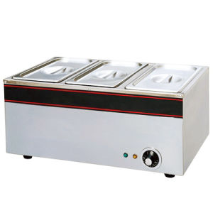 Electric 3-Pan Bain Marie (YSB-3, YSB-3V)