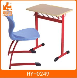 School Furniture Plastic Desks and Chairs Sets pictures & photos