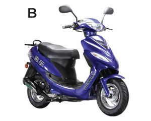 Small 50cc Scooter with New Design (50QT-6B)
