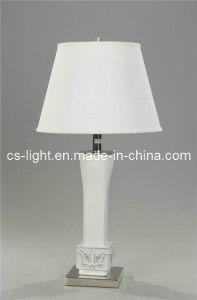 Metal Ceramic Living Room Table Lamp