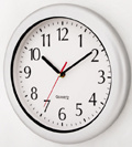 Plastic Water Proof Wall Clock Approve ISO9001 CE&RoHS 3288