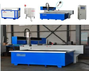 Good Quality 3 Axis Water Jet Cutting machinery for Glass Cutting pictures & photos
