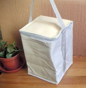 Erect Type of Cooler Insulated Bag
