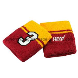 Cheap Cotton Terry Sports Wristband/Headband pictures & photos