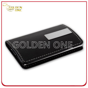 New Design Genuine Leather Business Card Holder pictures & photos
