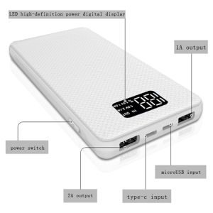 Real Waterproof IP68 Power Bank with Type C Input pictures & photos