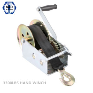 3300lbs Maunal Winch with Cable pictures & photos