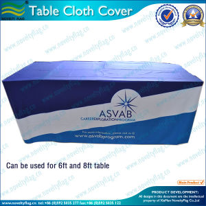 300d Polyester Table Cloth for Wedding (T-NF18F05027) pictures & photos