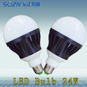 24W E27 LED Bulb with High Power LED