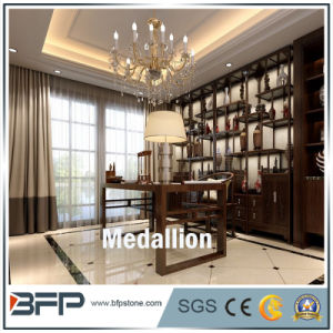 Customized Marble Medallion Round/Square Design Pattern for Floor Tiles pictures & photos