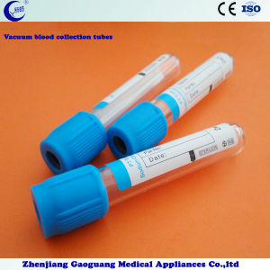 Pet Disposable Vacuum Blood Collection Tubes PT Tube (XC-CXG-007) pictures & photos