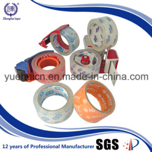 Popular Size 48mm 90yard Adhesive Crystal Packing Tape pictures & photos
