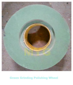 "12""X6""X127mm Green Silicon Carbide 15p 400# Grinding Polishing Wheel pictures & photos"