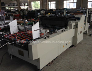 Automatic Paper Box Window Patching Machine with Double Lines pictures & photos