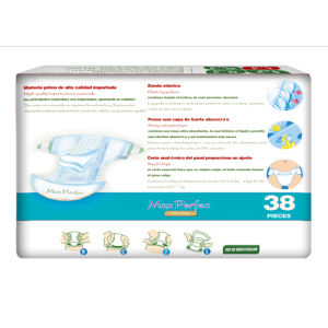 Soft and Breathable Baby Diapers (blue package, L) pictures & photos