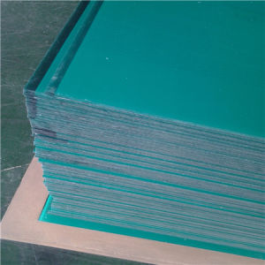 5mm Green Custom One Side Frosted PC Panels for Machine Covers