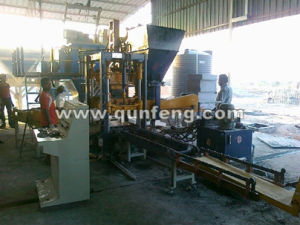 Qft15-20 Block Making Machine, Fly Ash Block, Cement Block, Curb Stone Making Production Line pictures & photos