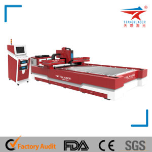 Stainless Steel Fiber Laser Cutting Machine with CE/FDA/SGS (TQL-MFC500-GB3015) pictures & photos
