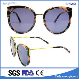 Top Selling Products Acetate Frame Promotion Sunglasses for Women pictures & photos