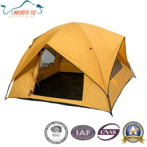 2017 New Fibreglass Pole Large Camping Tent