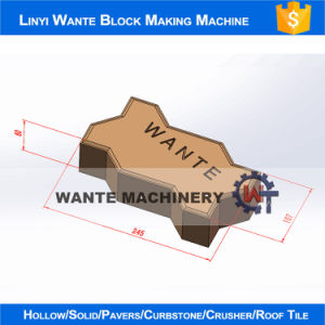 Wante Machinery Wante Brand Wt2-10 Automatic Interlock Paving Brick Making Machine Line pictures & photos