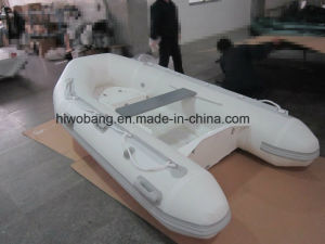 Eye-Catching Design Best Selling Motor Fiberglass Rib Boat pictures & photos