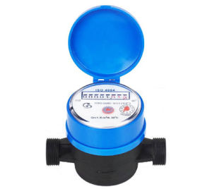"Single Jet Nylon Plastic Water Meter (1/2"") pictures & photos"