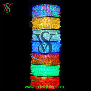 230V Round 2 Wires LED Rope Light pictures & photos