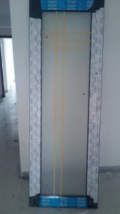 Conch 60 Casement PVC/UPVC Door pictures & photos