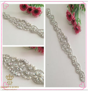 The Bride′s Wedding Dress Rhinestone Belt Water, Drilling Chain pictures & photos