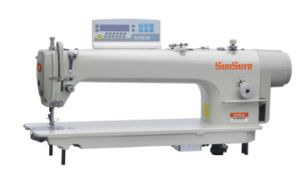 Long Arm Direct Computer Lockstitch Sewing Machine pictures & photos