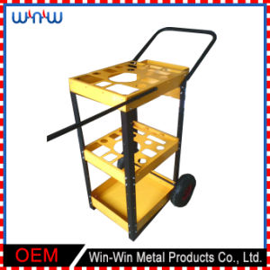 Customized Trolley Stainless Steel Shelf Bracket with Wheel pictures & photos