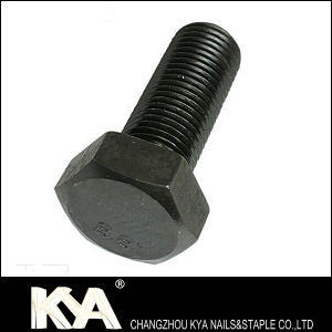 Black Oxide Hex Bolt, Carbon Steel Hex Bolt pictures & photos