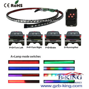Remote Control Waterproof Flexible RGB LED Strip with Brake and Turning Function pictures & photos
