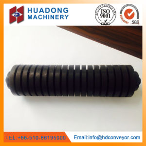 Coal Mining Industry Belt Conveyor Impact Rubber Idler Roller pictures & photos