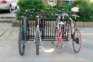 Multi-Functional Powder-Coated Metal Frame Bike Rack PV004 pictures & photos