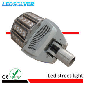 100W COB Aluminum Alloy Pure White LED Street Light with 160lm/W