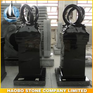 Granite Monumental Pedestal Rings Design Cremation Pillar pictures & photos