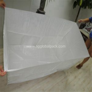 White Woven Bale Box Bag pictures & photos