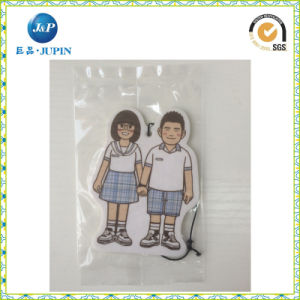 Custom High-Quality Hanging Paper Car Air Freshener with Long-Lasting Fragrance (JP-AR075) pictures & photos
