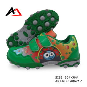 Sports Shoes Cheap Carton Printing Hikking Footwear for Children (AK621-1) pictures & photos
