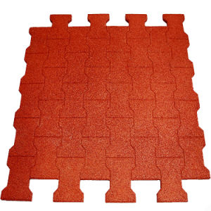 Recycle Rubber Tile/Outdoor Rubber Tile/Colorful Rubber Paver pictures & photos