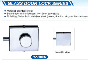 Stainless Steel Lock /Glass Door Lock High Quality pictures & photos