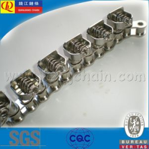 08b-1 Gripper Chain with Attachments (chrome nickel) pictures & photos