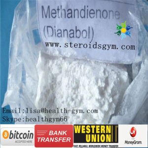 Muscle Growth Steroids CAS 72-63-9 Dianabol Methandienone Powder
